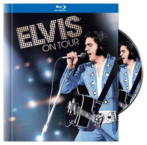 Elvis Presley Elvis On Tour Blu Ray Ws Incl. 40 Page Book