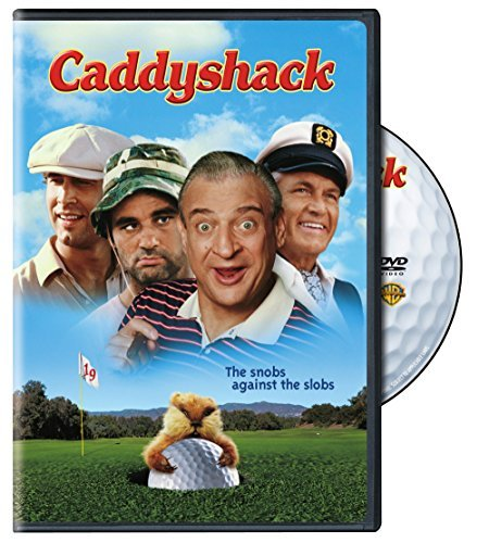Caddyshack Murray Chase Dangerfield DVD R Ws