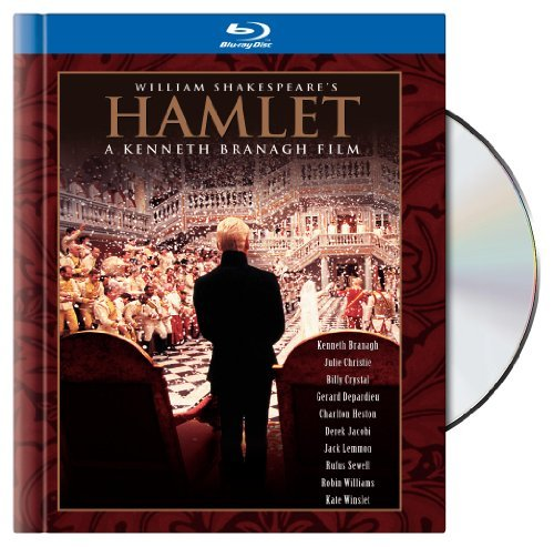Hamlet Branagh Winslet Williams Dench Blu Ray Ws Book Pg13
