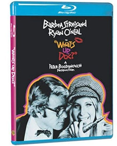 What's Up Doc? Streisand O'neal Mars Pendleto Blu Ray Ws G