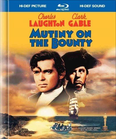 Mutiny On The Bounty (1935) Gable Laughton Blu Ray Ws Nr