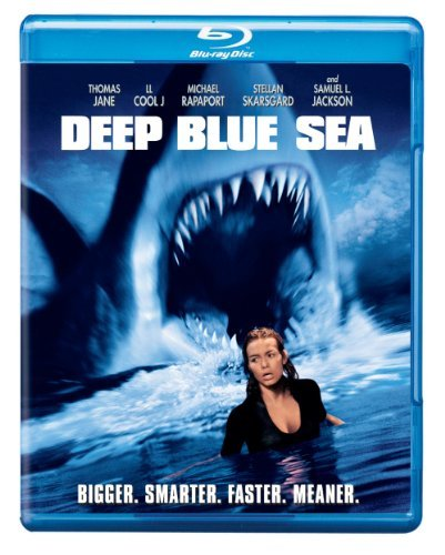 Deep Blue Sea Jackson Burrows Jane Ll Cool J Blu Ray Ws R