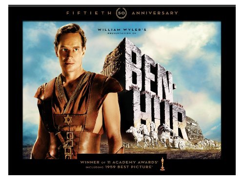 Ben Hur Heston Griffith Hawkins Ws 50th Anniv. Ultimate Ed. G