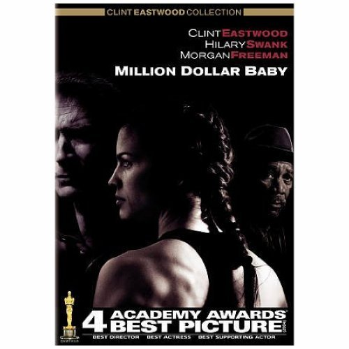 Million Dollar Baby Eastwood Swank Freeman DVD Pg13 Ws