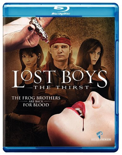 Lost Boys The Thirst Feldman Newlander Phoenix Blu Ray Ws R Incl DVD Dc