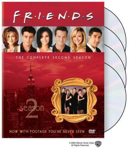 Friends Season 2 DVD