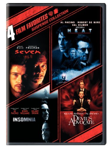 Suspense Collection 4 Film Favorites R 2 DVD