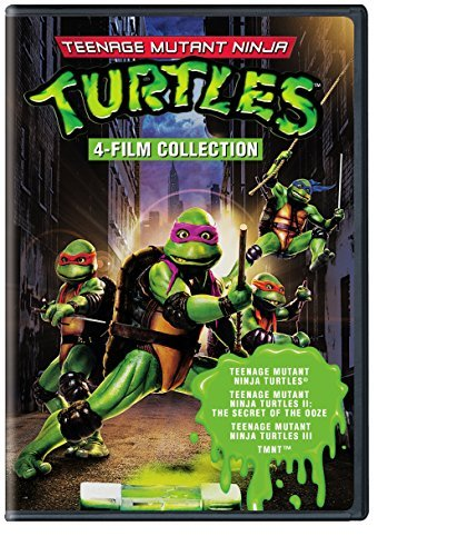 Teenage Mutant Ninja Turtles 4 Film Favorites Pg13 2 DVD
