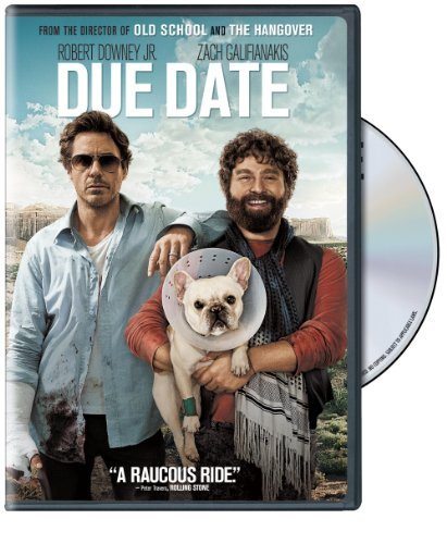 Due Date Downey Galifianakis Monaghan DVD R Ws
