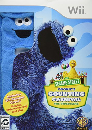 Wii Sesame Street Cookie's Counting Carnival