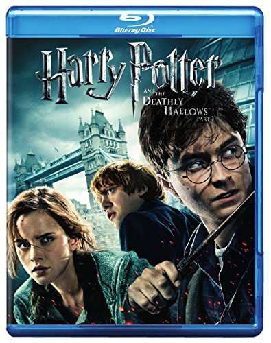 Harry Potter & The Deathly Hallows Part 1 Radcliffe Grint Watson Blu Ray Dc Pg13 Ws