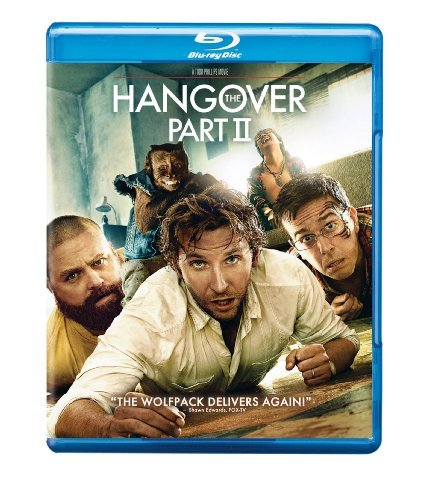 Hangover Pt. 2 Cooper Helms Galifianakis Blu Ray Ws R Incl. DVD Dc