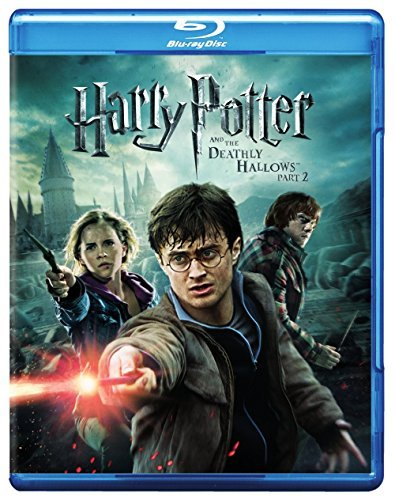 Harry Potter & The Deathly Hallows Radcliffe Grint Watson Blu Ray Dc Pg13 Ws