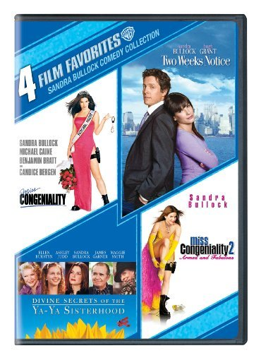 4 Film Favorites Bullock Sandra Pg13 2 DVD