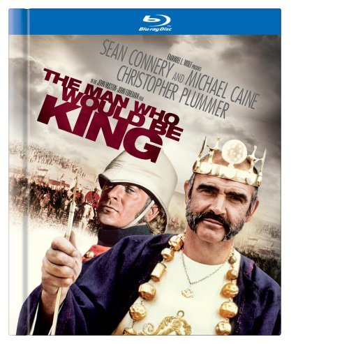 Man Who Would Be King Connery Caine Plummer Blu Ray Ws Digibook Pg