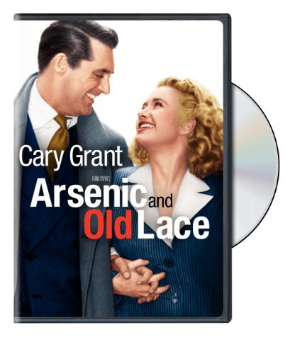 Arsenic & Old Lace Grant Hull Adair Massey Carson DVD Nr