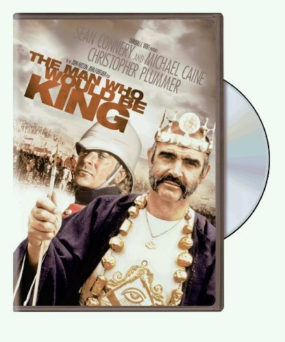 Man Who Would Be King Connery Caine Plummer Jaffrey Ws Fs Pg