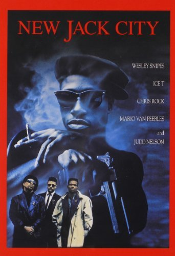 New Jack City Snipes Ice T Van Peebles Rock DVD R