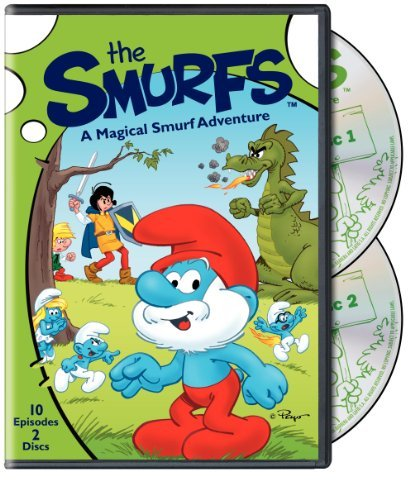 Magical Smurf Adventure Smurfs Nr
