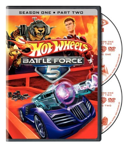 Hot Wheels Battle Force 5 Season 1 Part 2 DVD Nr