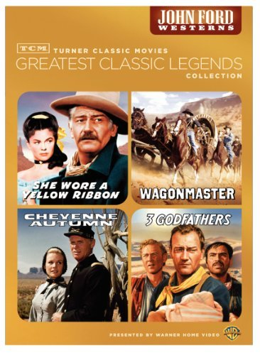 John Ford Westerns Tcm Greatest Classic Films Le O Sleeve Tcm Greatest Classic Films Le