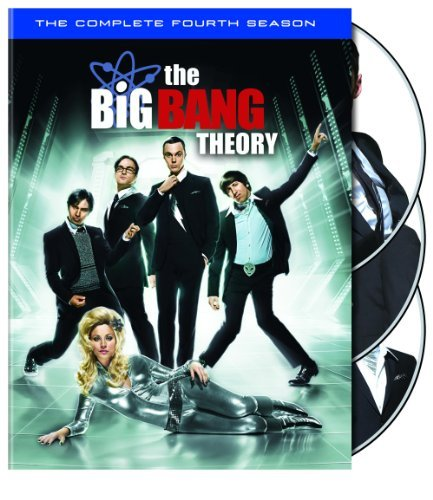Big Bang Theory Season 4 DVD Nr 4 DVD