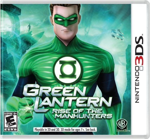 Nintendo 3ds Green Lantern Rise Of The Manh Whv Games E10+