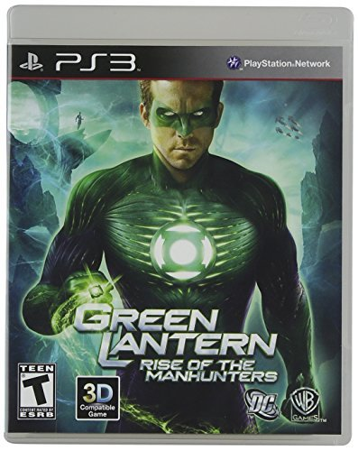 Ps3 Green Lantern Rise Of The Manhunters
