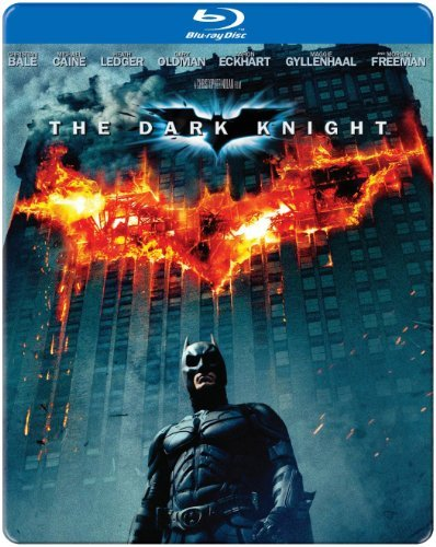 Batman Dark Knight (steel Box) Batman Dark Knight Import Can Blu Ray Steel Box