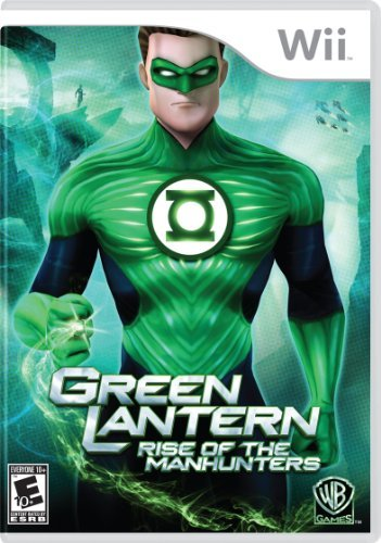 Wii Green Lantern Rise Of The Manhunters