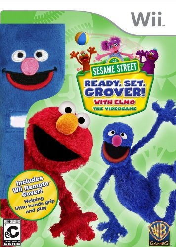 Wii Wii Sesame Street Ready Set Grover