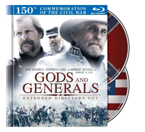 Gods & Generals Conner Daniels Lang Duvall Blu Ray Ws Extended Directors Pg13 2 Br