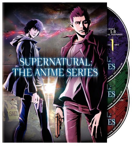 Supernatural The Anime Series Supernatural The Anime Series Ws Nr 3 DVD