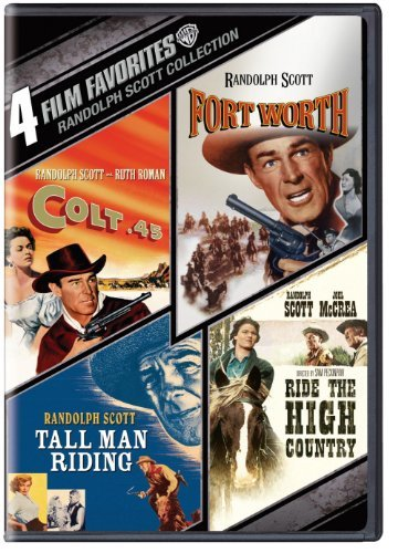 Randolph Scott Westerns 4 Film Favorites Nr