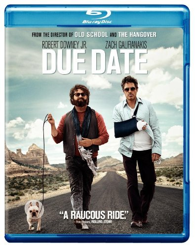 Due Date Downey Galifianakis Monaghan Blu Ray