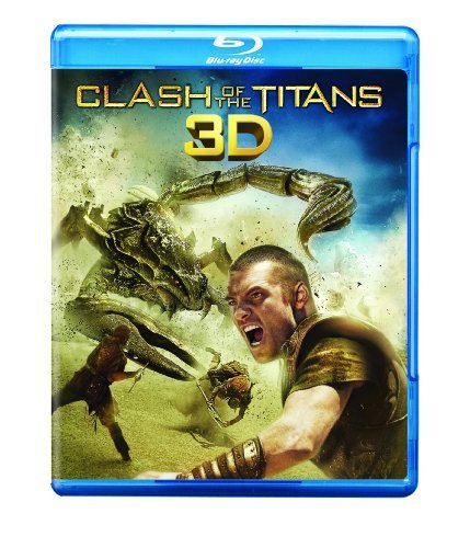 Clash Of The Titans 3d Wothington Fiennes Neeson Blu Ray Ws 3dtv Pg13
