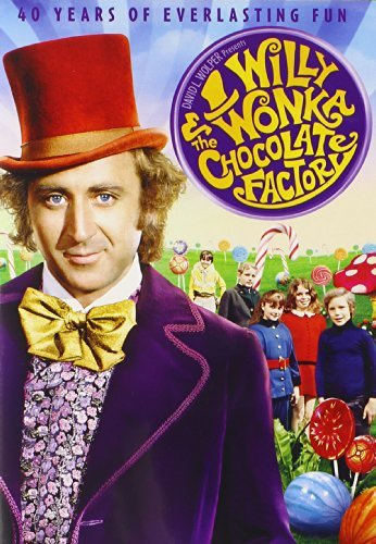 Willy Wonka & The Chocolate Factory Wilder Alberton Ostrum DVD G Ws