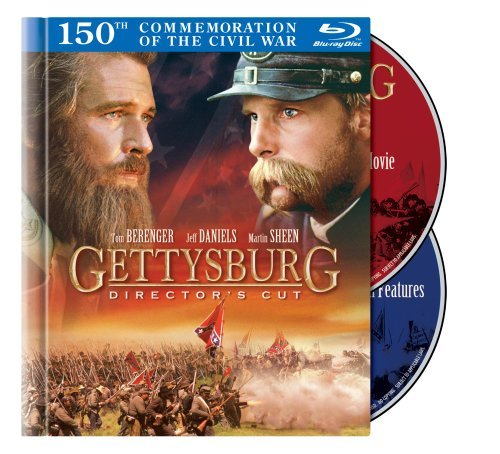 Gettysburg Berenger Daniels Sheen Lang Blu Ray Ws Director's Cut Nr 2 Br