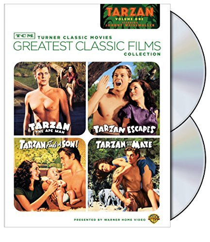 Tcm Greatest Classic Films Vol. 1 Johnny Weissmuller As T Nr 2 DVD
