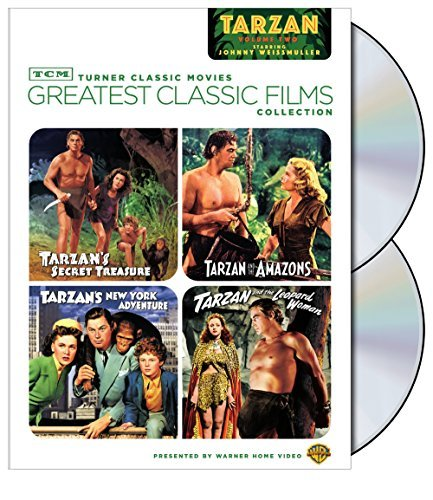 Vol. 2 Johnny Weissmuller As T Tcm Greatest Classic Films Nr 2 DVD