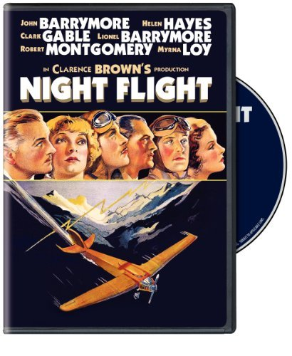 Night Flight Gable Barrymore Hayes Loy Nr