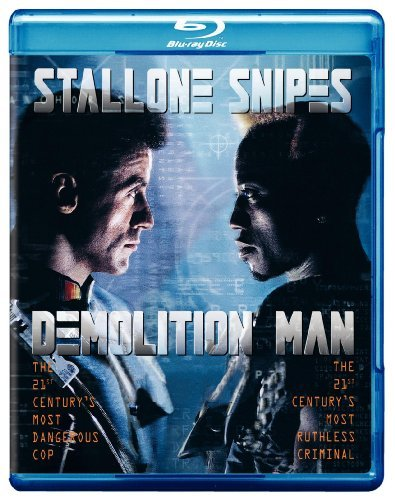 Demolition Man Stallone Snipes Bullock Hawtho Blu Ray Ws R