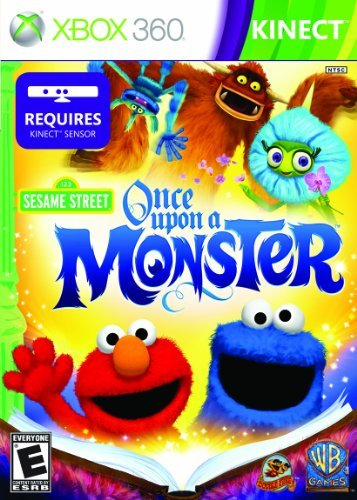 X360 Kinect Sesame Street Once Upon A Monster