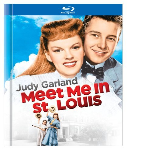 Meet Me In St. Louis Garland O'brien Astor Blu Ray Ws Book Nr