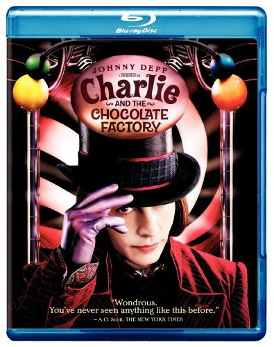 Charlie & The Chocolate Factor Depp Carter Highmore Blu Ray Pg13 Ws