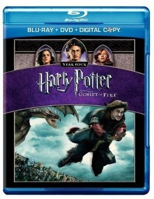 Harry Potter & The Goblet Of Fire Radcliffe Watson Grint Blu Ray + DVD + Digital Copy