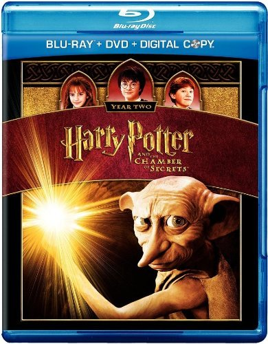 Harry Potter & The Chamber Of Secrets Radcliffe Watson Grint Blu Ray + DVD + Digital Copy