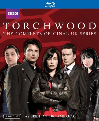 Torchwood Complete Original Uk Series Ws Blu Ray Nr 12 DVD