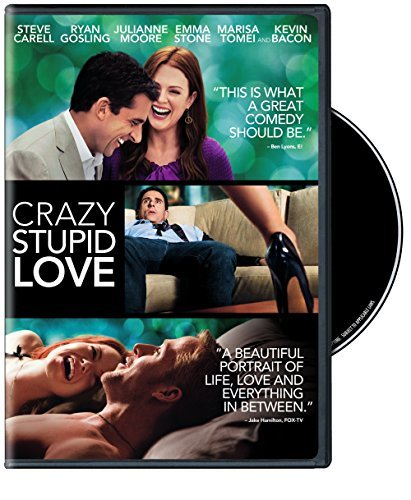 Crazy Stupid Love Carell Gosling Moore DVD Nr Ws