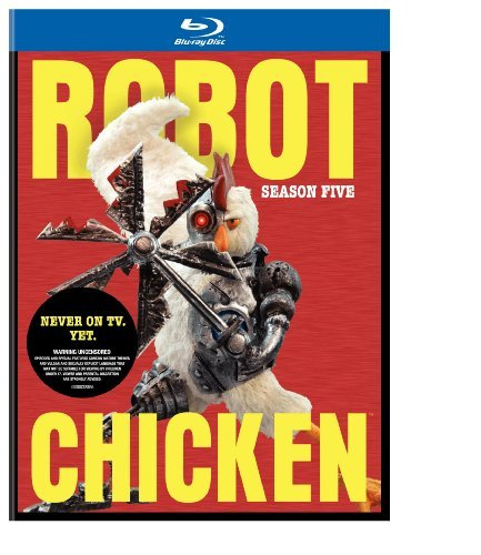 Robot Chicken Season 5 Robot Chicken Blu Ray Ws Nr 2 Br